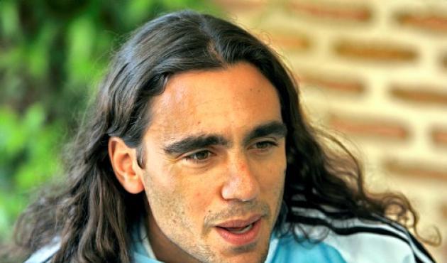 Juan Pablo Sortín, figura del campeón Argentina.
