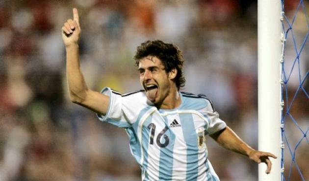 Pablo Aimar, figura de Argentina.
