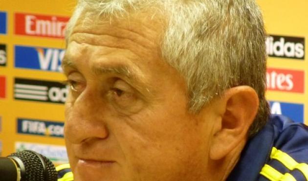 Eduardo Lara, técnico de Colombia.