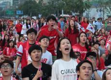 El partido Bélgica-Corea del Sur fue el más visto con un récord de audiencia con  5,1 millones de personas.