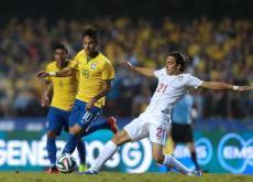 Partido Brasil - Serbia.