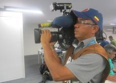 Roberto Quintana es un camarógrafo cartagenero, radicado en Bogotá, que con el de Brasil ya sumó el cubrimiento de tres mundiales.