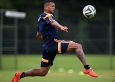 Fredy Guarín estará en la titular este jueves ante Costa de Marfil.