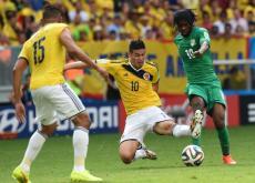 James completa dos goles en este Mundial.