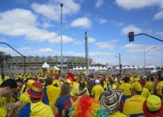 seleccion colombia en belo horizonte brasil mundial 2014