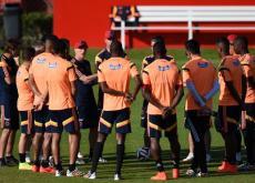 Colombia entrenó ayer y tiene la motivación para enfrentar a Costa de Marfil.