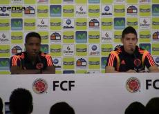 James Rodríguez y Carlos Carbonero.