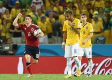 James Rodríguez, la gran figura de Colombia en el Mundial.