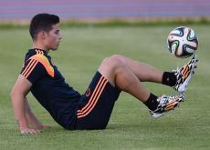 James Rodríguez sigue como máximo artillero del Mundial de Brasil con 6 tantos.