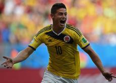 James Rodríguez, el goleador de Colombia.
