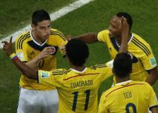 Colombia se jugará el viernes su permanencia en el Mundial cuando enfrente a Brasil.
