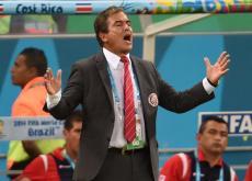 Jorge Luis Pinto, técnico de Costa Rica.
