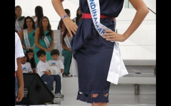 La moda que lucieron las candidatas en la Sociedad Portuaria.