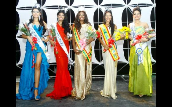Las cinco finalistas