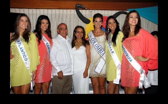 Aspirantes a Señorita Colombia