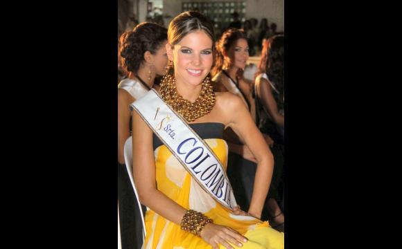Natalia Navarro, Señorita Colombia.