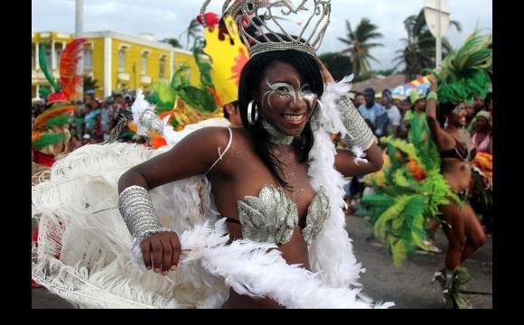Shirlie Salgado, bailarina de la Escuela de Zamba Falo de Sousa.