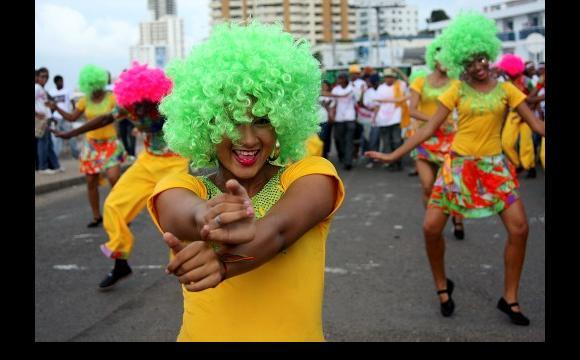 El desfile de Independencia fue cuna concentración regional.
