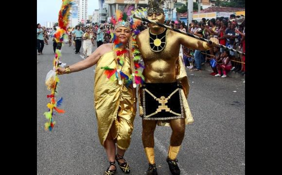 De Antioquia, el grupo Lumbalú nos trajo la historia de El Dorado.