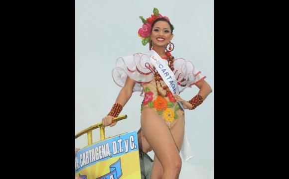 Karen Margarita Visbal, representante de Cartagena.