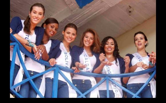 Candidatas al Reinado Nacional de Belleza 2010