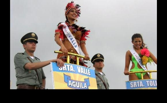Batalla de Flores del Concurso Nacional de Belleza.