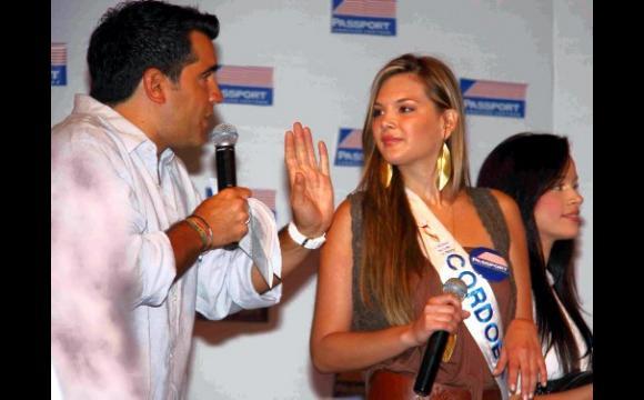 El presentado del acto fue Carlos Calero.