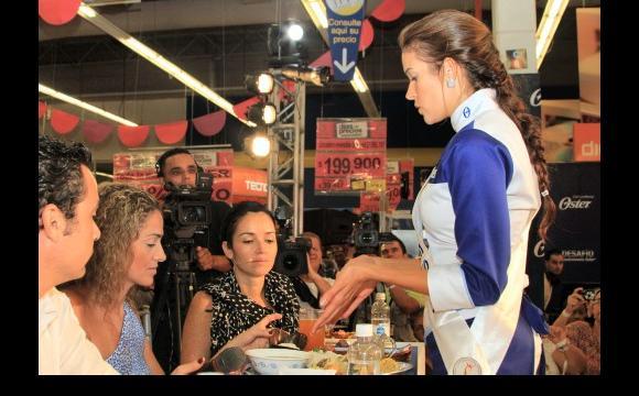 La Reina de Cesar, Marisabella Mendoza Cabello, ganó el Desafió Gastronómico