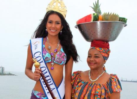 Catalna Robayo, Señorita Colombia.