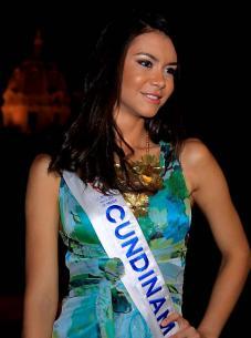 Señorita Cundinamarca, Thael Osorio.