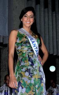 Señorita Santander, Andrea Tavera