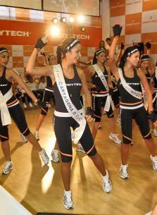 Reinas en elección de Figura BodyTech 2011