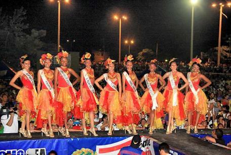 Candidatas al Reinado de la Independencia 2011
