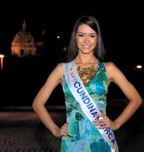 Thael Osorio, señorita Cundinamarca.