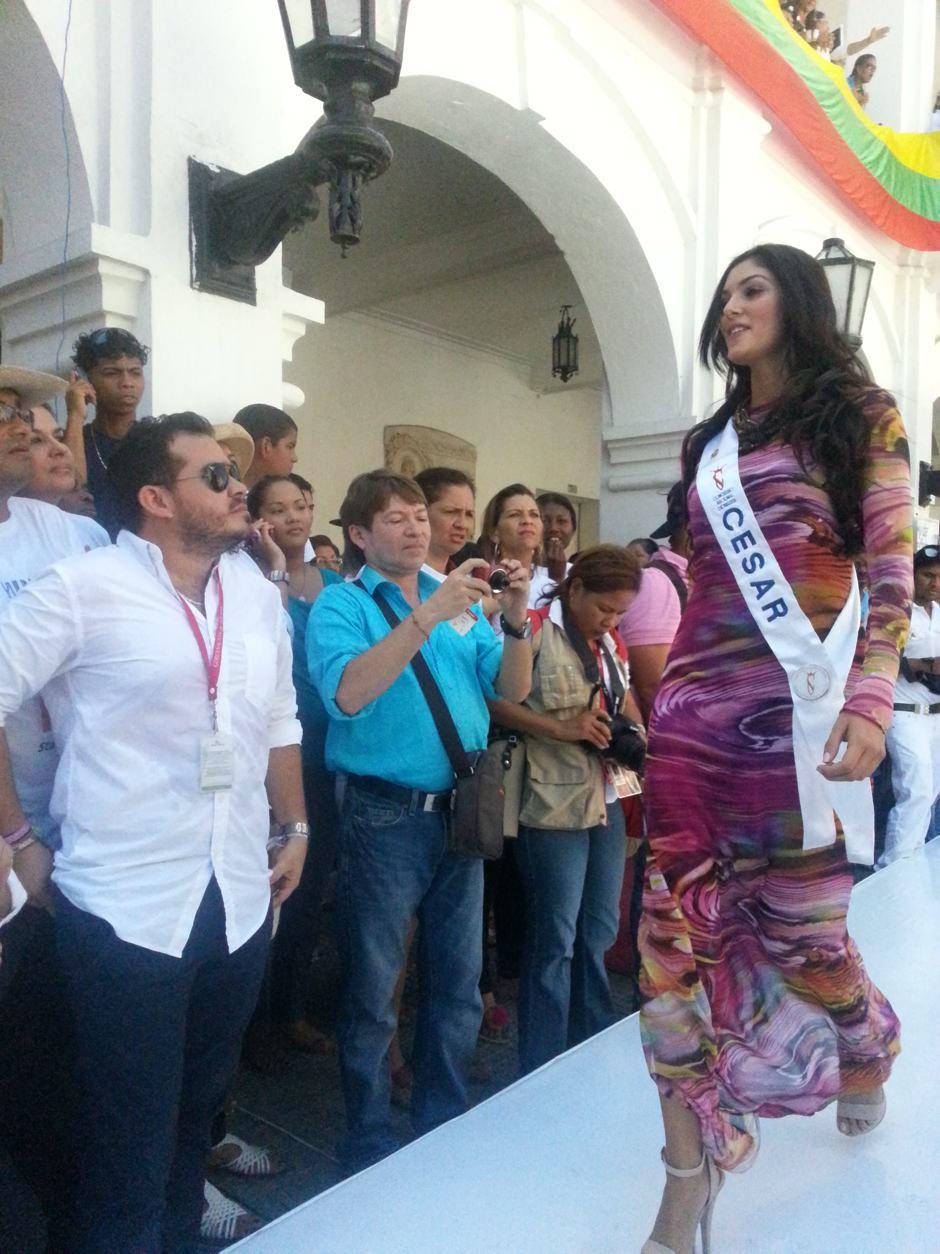 aspirantes a señorita colombia en cartagena