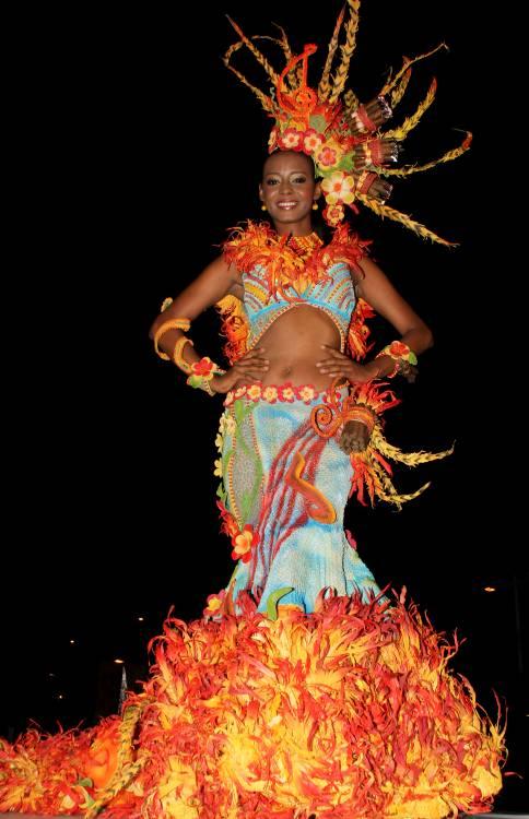 Bayunca, ganadora de la Noche de Fantasía, del Reinado de la Independencia.