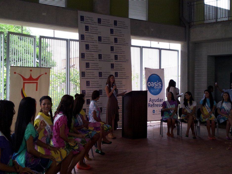 Zulibeth CARTAGENA ASPIRANTES SEÑORITA COLOMBIA