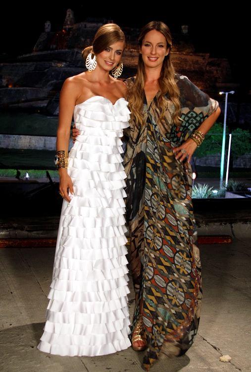 Cristina Hurtado y Claudia Bahamón