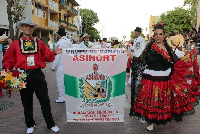 desfile colegios cartagena