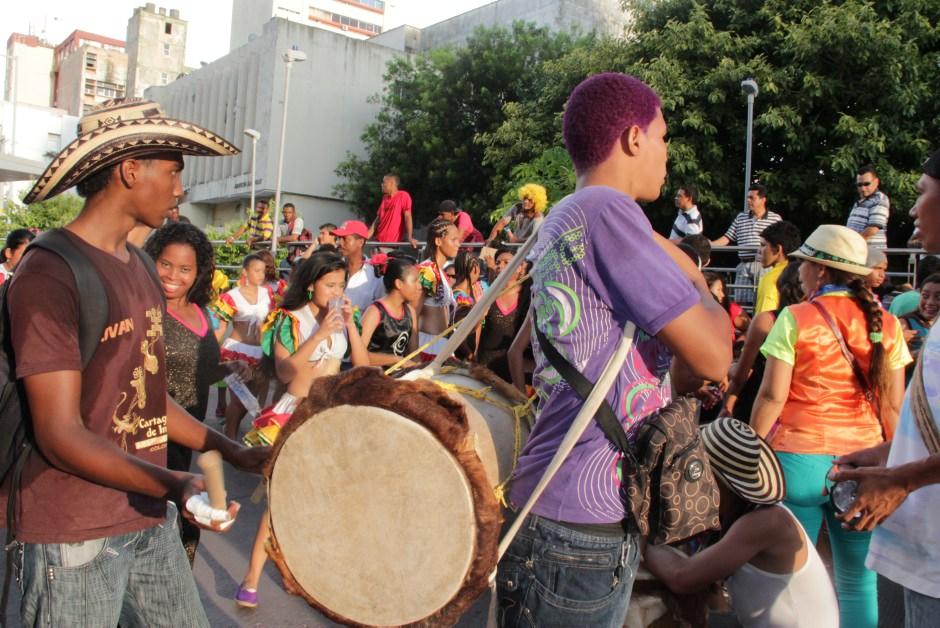 Desfile de los colegios en cartagena fiestas de la independencia