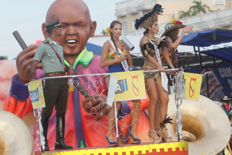 Reinas colombianas batalla de flores