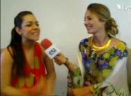 Twitcam Claudia Bahamón y Amanda Avella