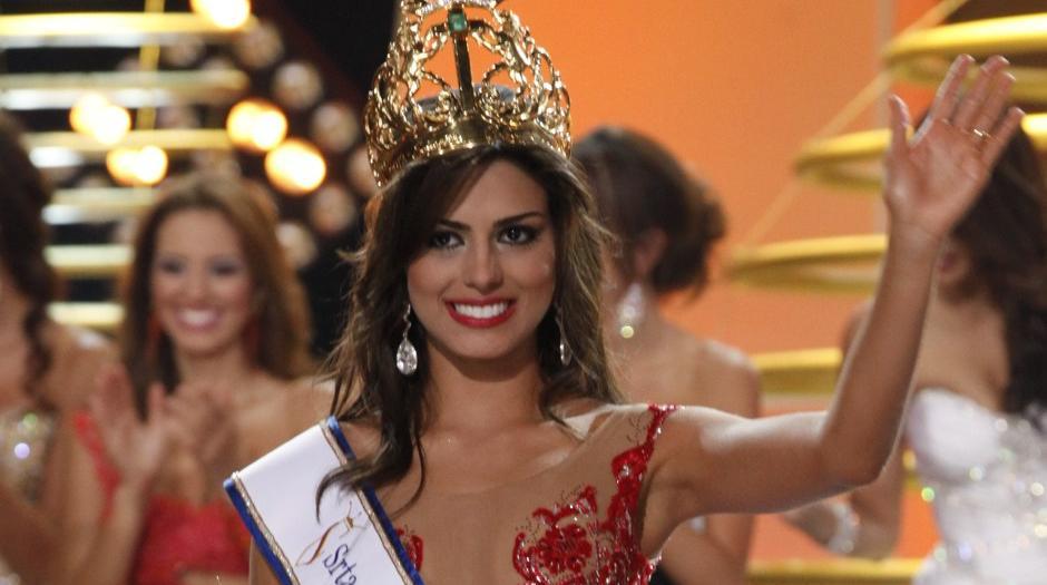 Valle, Lucia Aldana, es la nueva señorita Colombia 2012 - 2013