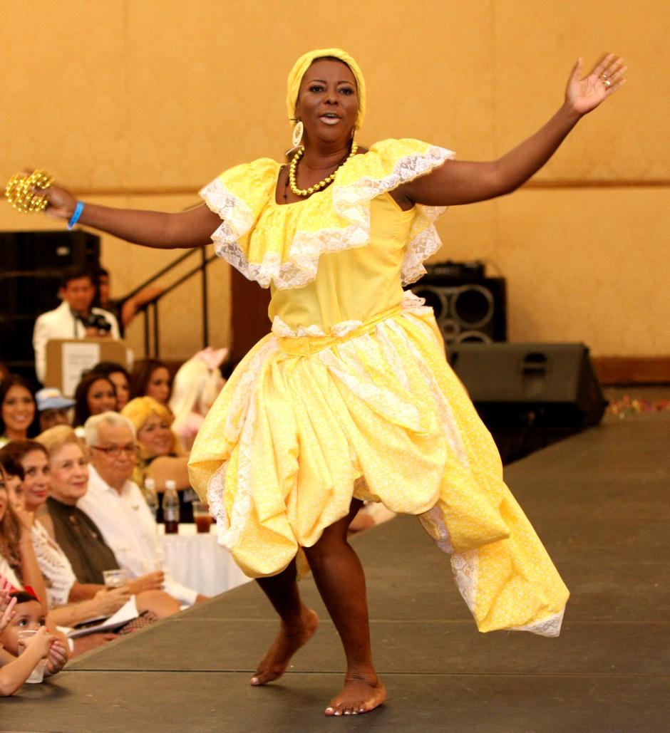Martha Inés Murillo tía de la Señorita Chocó, Reina Madre 2012.