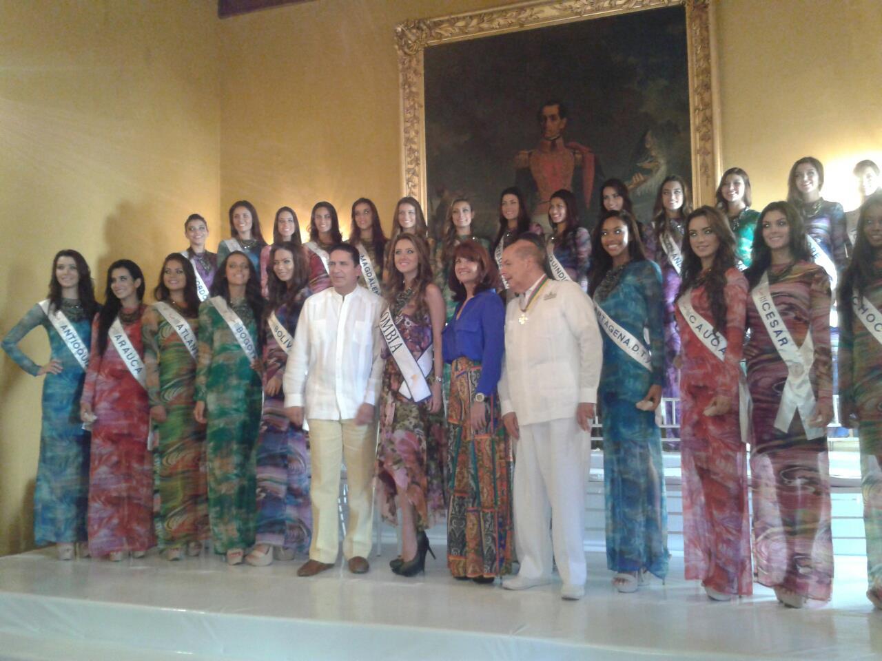 VUELO REAL CONCURSO NACIONAL DE LA BELLEZA 2012