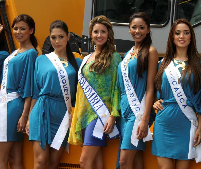 Reinas en la Sociedad Portuaria de Cartagena