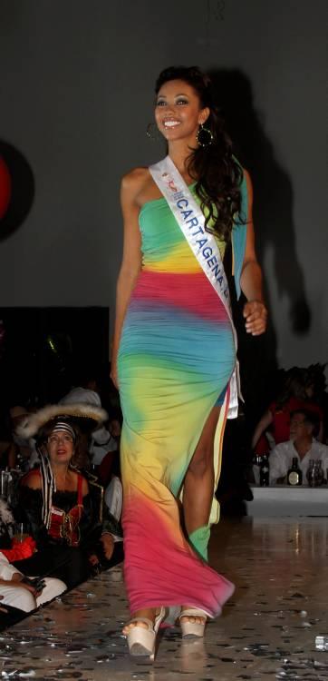 Señorita Cartagena D.T. y C., Elida Castro