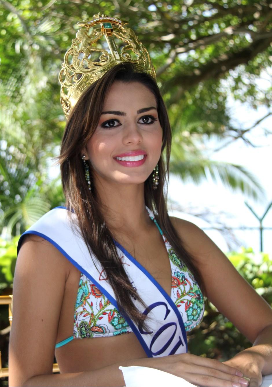 Lucia Aldana, Señorita Colombia.