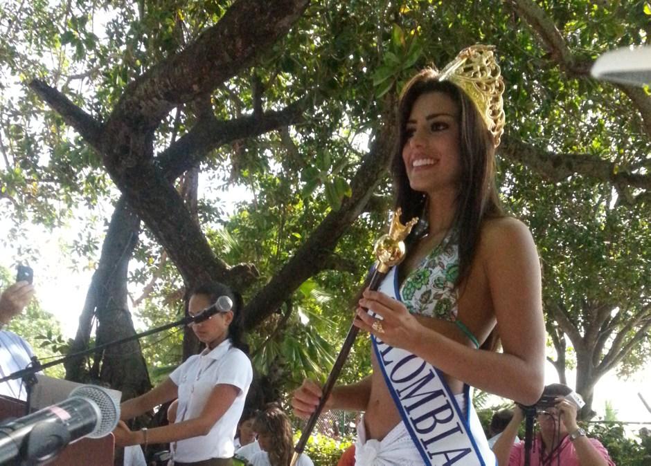 Lucia Aldana, Señorita Colombia