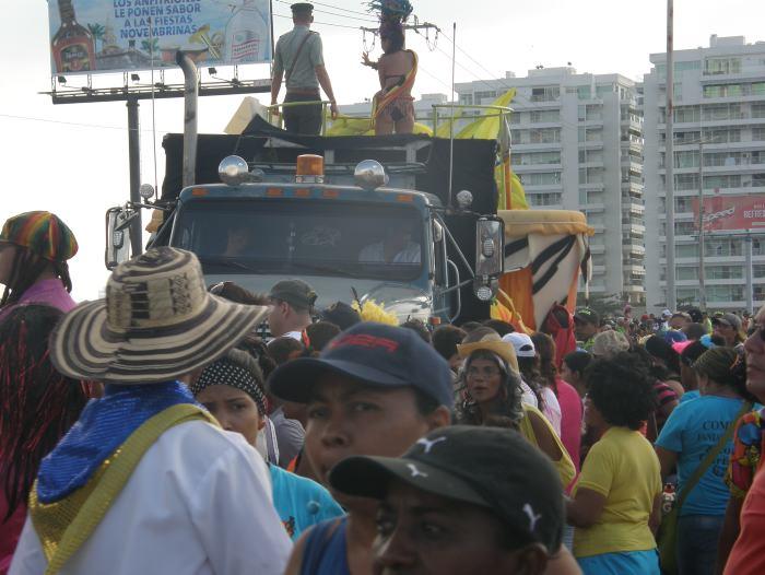 Desfile de carrozas Batalla de flores